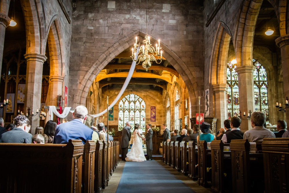 St Mary's Church, Acton wedding photography. Nantwich wedding photographer